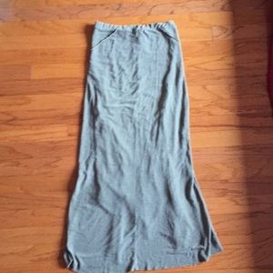 Skirts - Khaki color long skirt. Xs
